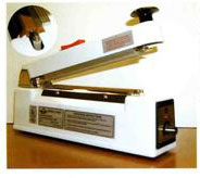 medical heat sealing equipment, semi automatic or hand held