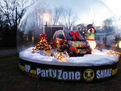 christmas plastic bubble dome party zone
